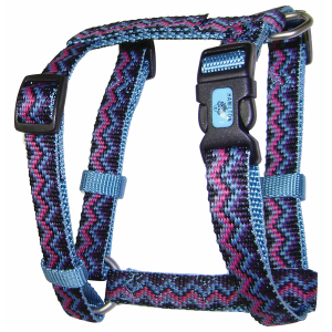 Fully Adjustable Dog Harness with Deluxe Webbing-Weave Design