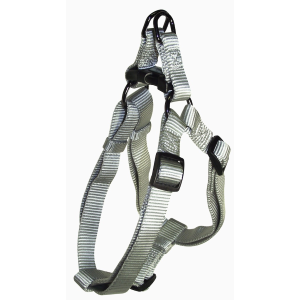 Gun-Metal Easy On Adjustable Dog Harness