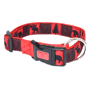 Back Country Red Adjustable Dog Collar