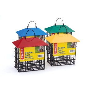 Double Suet Feeder - Assorted Colors