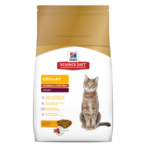 Adult Urinary Hairball Control Cat Food