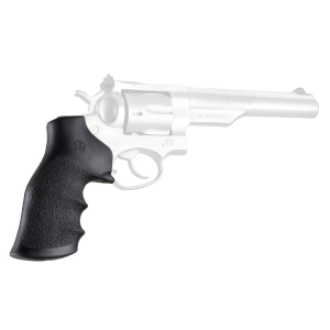 Ruger GP100/Super Redhawk Black Rubber Monogrip