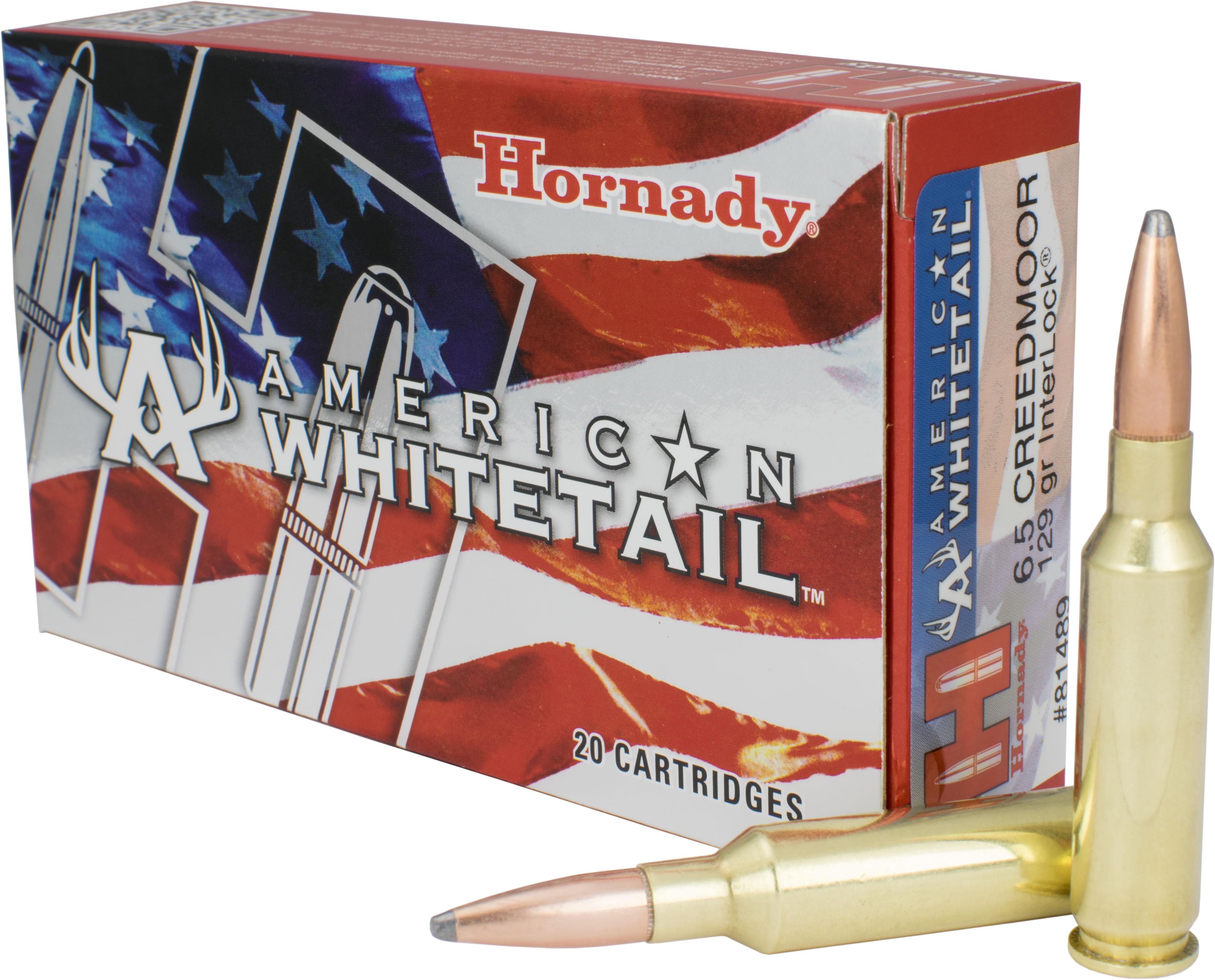 6 5 Creedmoor 129 Grain InterLock American Whitetail Ammo