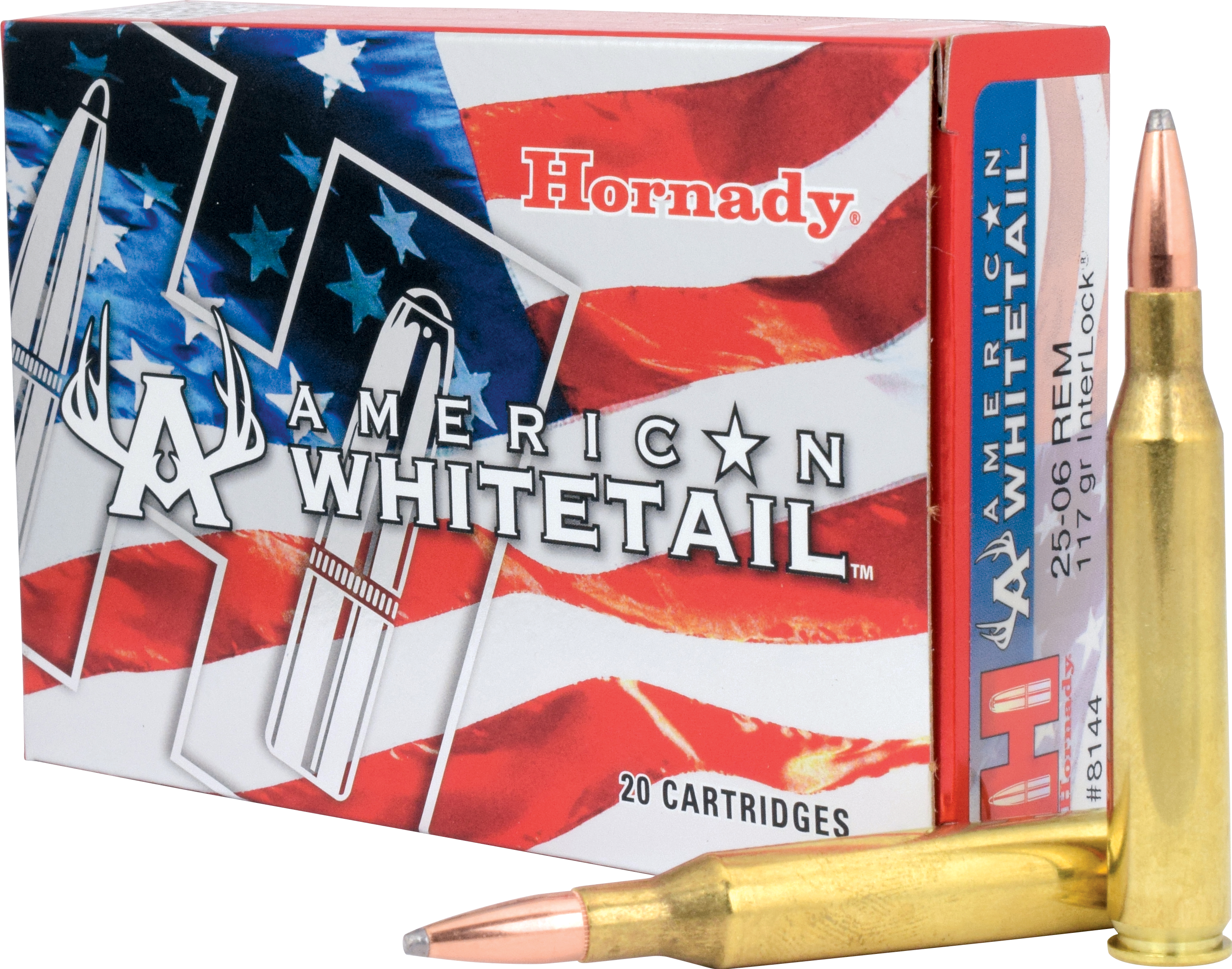 Murdoch's – Hornady -  25-06 Rem 117 Grain InterLock BTSP American  Whitetail Ammo