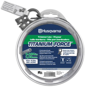 Titanium Force Trimmer Line - 0.080""