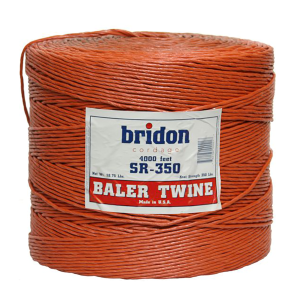 4,000' 350# Knot Plastic Baler Twine for  3' x 3'; 3' x 4', and 4' x 4' Balers