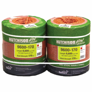 9600' 170# Knot Plastic Baler Twine for Small Squares