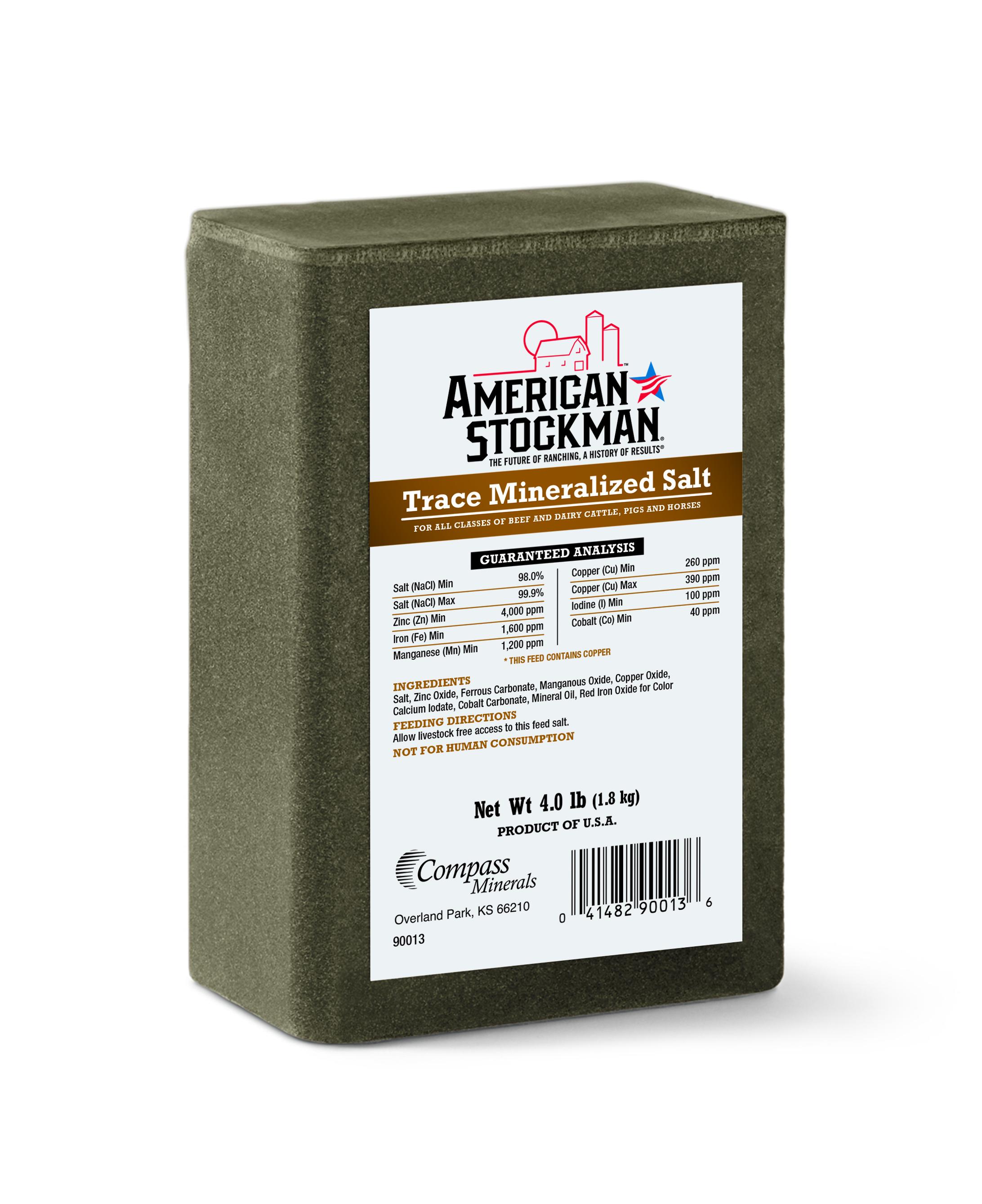 Murdoch S American Stockman Trace Mineralized Salt Lick