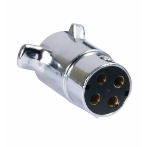 4-Pole Vehicle End Connector