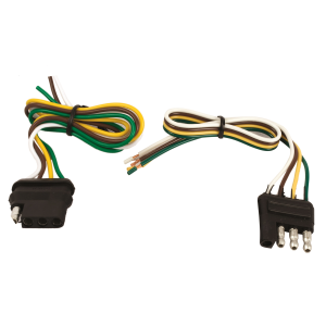 4 Way Flat Trailer and Vehicle Wire Connector Kit