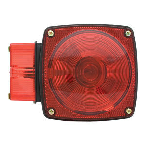 "5-3/4"" Right Side Square Stop/Turn/Tail Light without License Light"