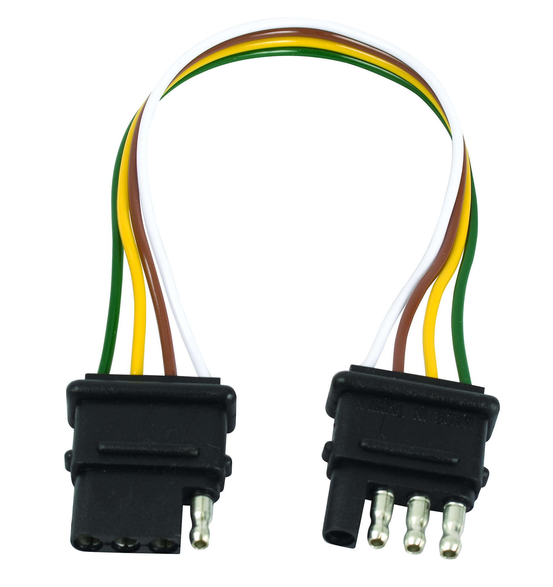 Towing Lights Wiring Adapters Multi Function Adapter 4 Flat 7 Blade