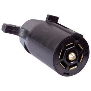 7-Pole RV Trailer End Plastic Connector