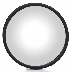 "6"" Round Mirror with L-Bracket"