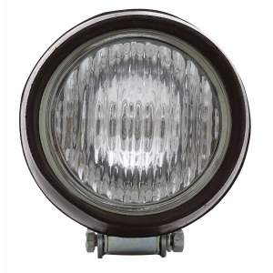 Round Halogen Tractor Light, Recessed Lens