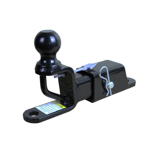 ATV/UTV Trio HD Receiver Hitch w/Ball Mount