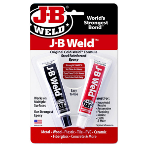 J-B Weld Original Cold-Weld Twin Tube Epoxy