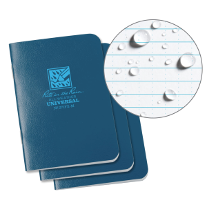 3-Pack Mini-Stapled Universal Notebook - Blue