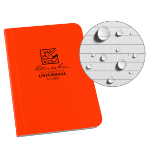 Soft Cover Universal Notebook - Orange
