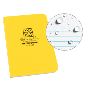 Soft Cover Memo Notebook - Yellow