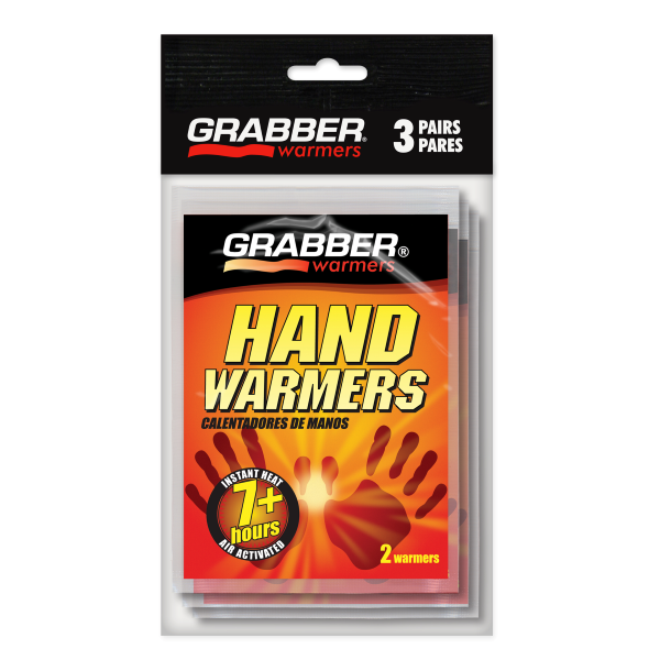 7+ Hour Hand Warmers - 3 Pack