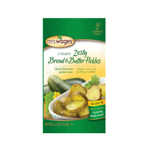 Zesty Bread and Butter Pickle Mix