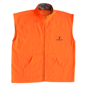 Men's  Blaze Full Zip Poly Vest