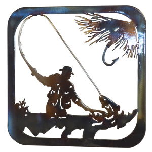 Fly Fisherman Trivet