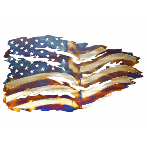 Tattered Flag Wall Art