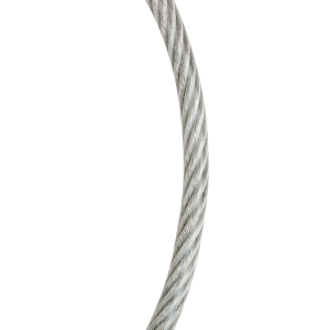 "7 x 19 Galvanized Vinyl Coated Wire Rope Cable 1/4""-5/16"" Diameter"