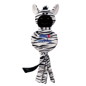 Wubba No Stuff Zebra
