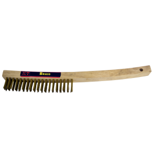 Bent Handle Brass Brush
