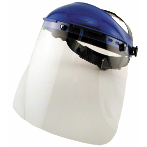 Clear Face Ratchet Style Face Shield