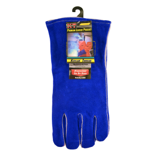 Premium Grade Blue Welding Gloves
