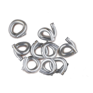 "1/2"" Hog Rings - 100 Count"