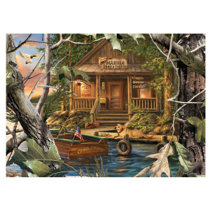 Realtree Gone Fishing 1000 Piece Puzzle