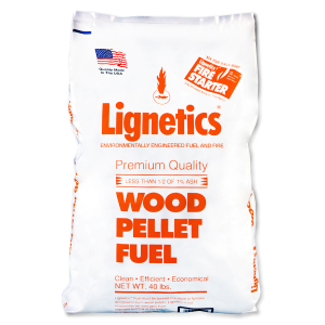 Premium Quality Wood Pellets - 40 lb Bag