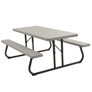 6' Picnic Table - Putty