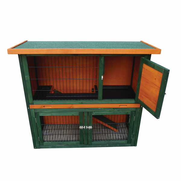 Double Door Rabbit Hutch