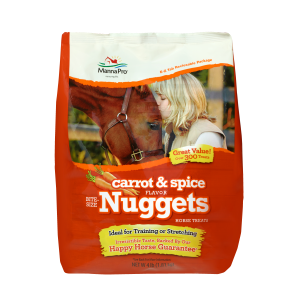 Carrot & Spice Nuggets Horse Treats