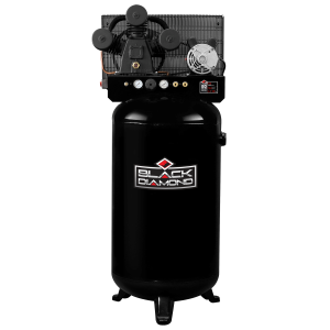 4.7 HP 230V 80 Gallon Vertical Stationary High-Flow Air Compressor