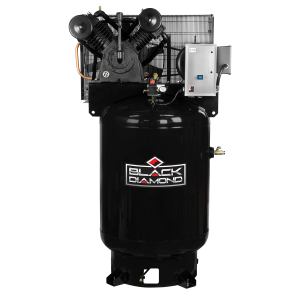 120 Gallon 2 Stage Single Phase Air Compressor