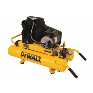 1.9 HP 8 Gallon Cast Iron Oil Lubricated Electric Wheelbarrow Air Compressor DXCMTA1980854