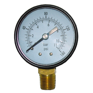 160 PSI Air Tank Pressure Gauge
