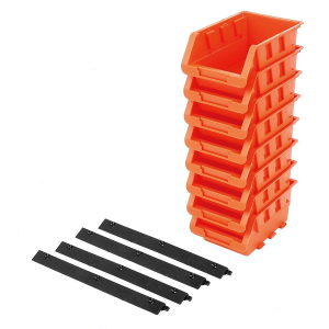 8-Piece Storage Bin Set