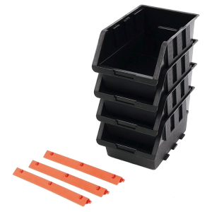 4-Piece Storage Bin Set
