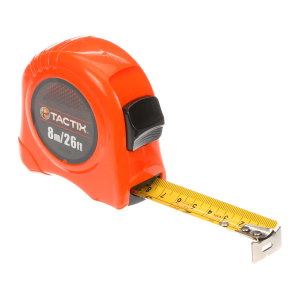 "26' x 1"" Tape Measure - Orange"