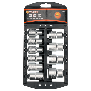 "10-Piece 1/2"" Drive Socket Set - Metric"