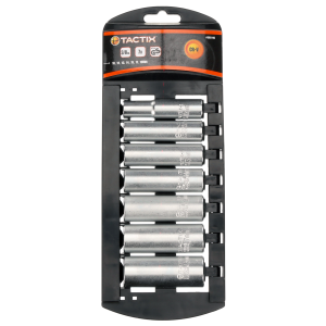 "7-Piece 3/8"" Drive Deep Socket Set - Metric"
