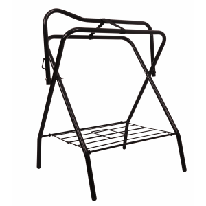 Folding Saddle Stand with Rack